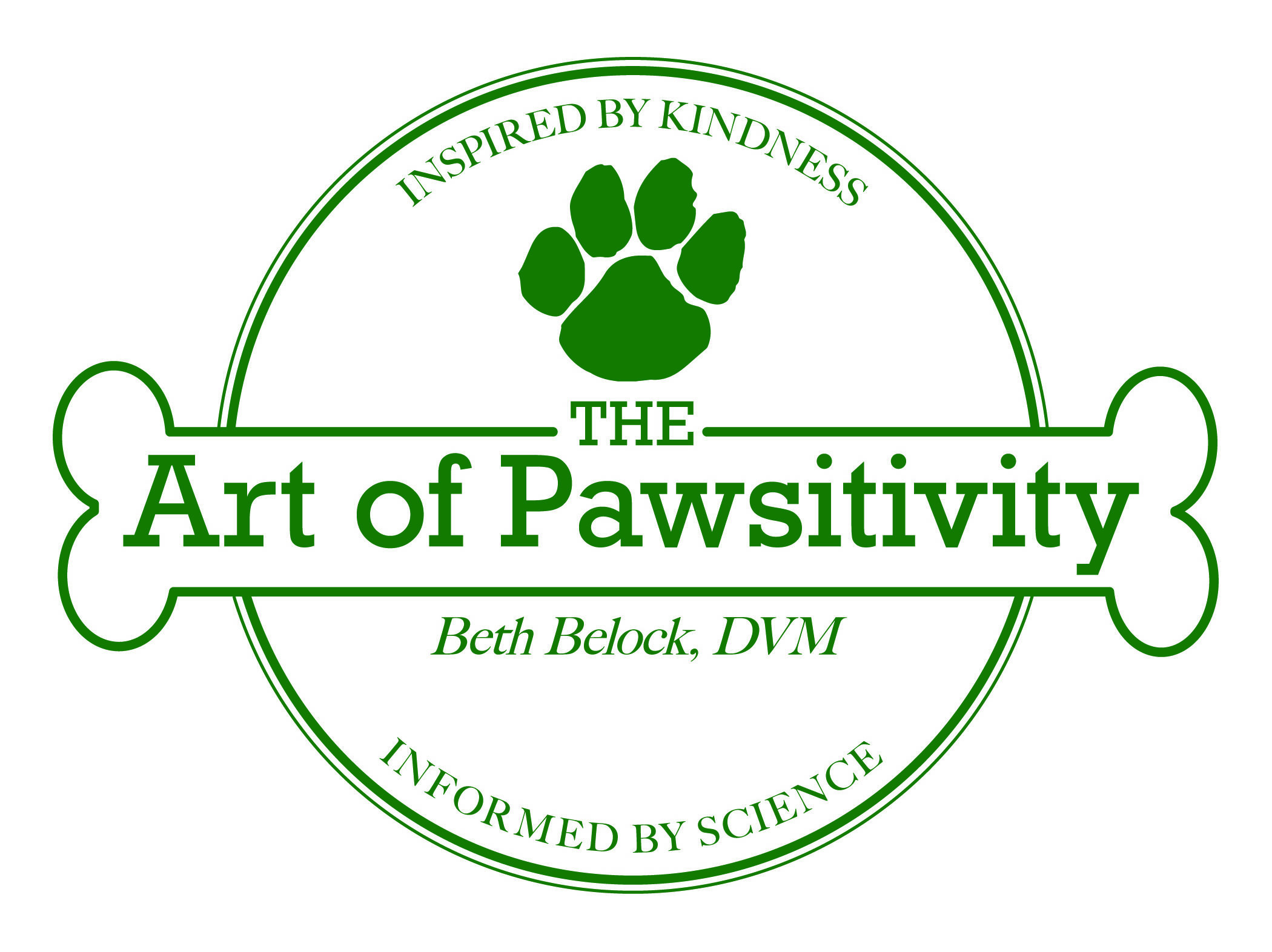 The Art of Pawsitivity